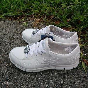 Skechers Memory Foam Comfort Non Slip Work Shoes